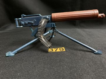 VINTAGE ACTION MAN - Vickers MG with Tripod (ref2)
